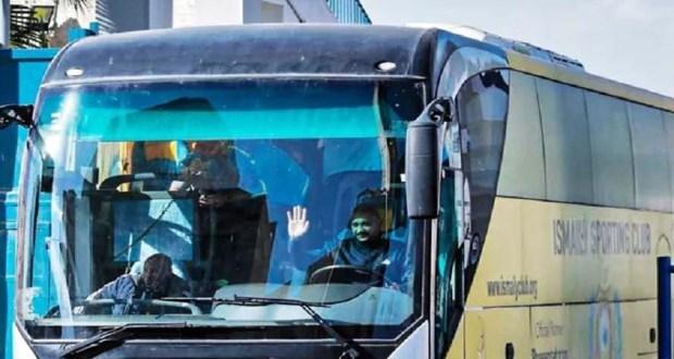سائق اتوبيس فريق نادي الاسماعيلي