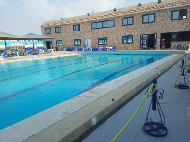 جمام سباحة نصف اوليمبي نادي الإعلاميين الرياضي