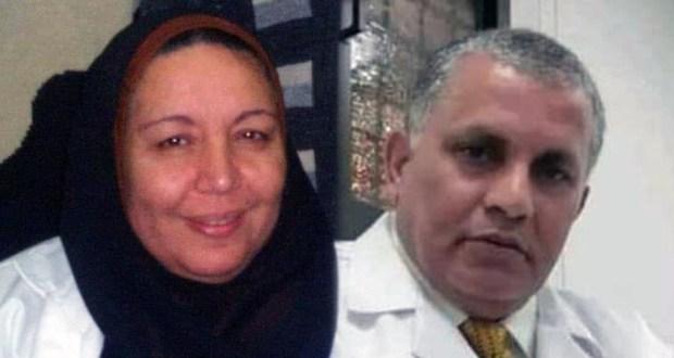 الدكتور محمد عبد الهادي والدكتورة وجنات توفيق