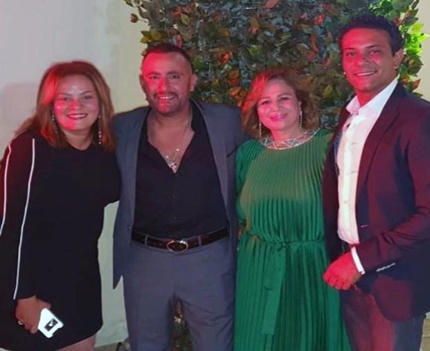 آسر ياسين وأحمد السقا وإلهام شاهين وكاملة أبو ذكري في فرح دره