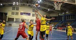مباراة الجزيرة والاهلي في دوري مرتبط كرة السلة