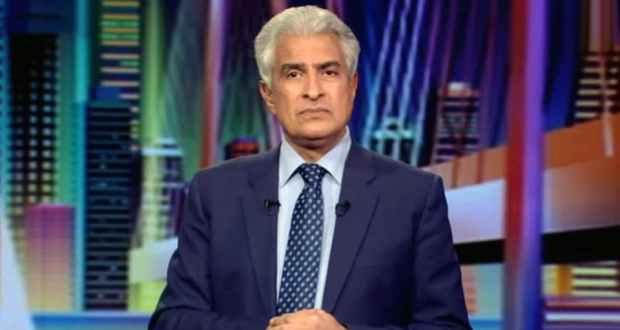 وائل الابراشي مقدم برنامج التاسعة علي القناة الاولي الفضائية