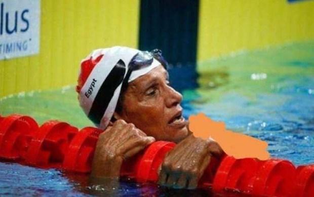 السباحة الدكتورة سهير العطار