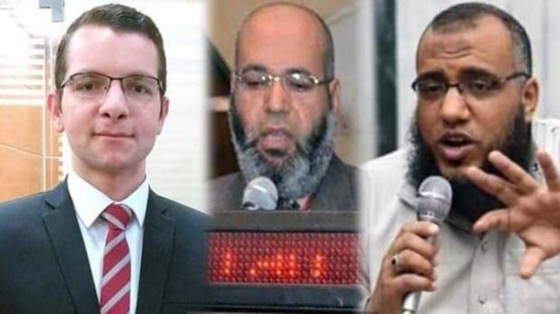 هاني فكري محاسب في بنك مصر دكتور اسامه عبدالعزيز والمصيلحي فوزي المصيلحي القلشي مدرس بجامعة الأزهر