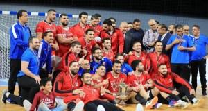 الاهلي بطل كأس مصر لكرة اليد 2020 - 2021