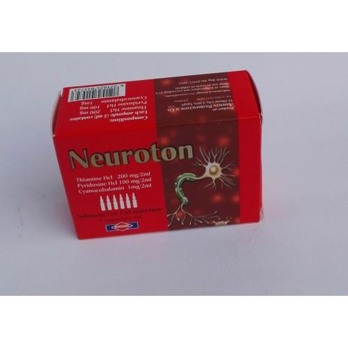 Neuroton ( thiamine + pyridoxine + cyanocobalamin ) 6 ...