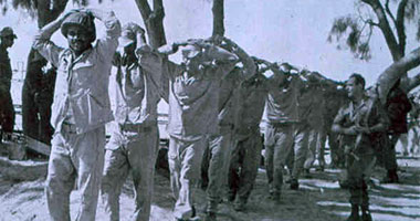 Egyptian POWs in 1967