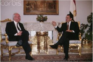 Mubarak and Rabin in 1995