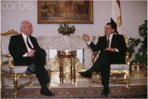 Mubarak and Rabin in 1995