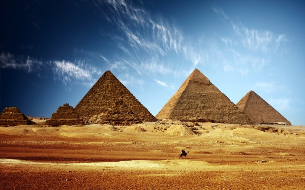 Anomalies Revealed in Egypt39s Great Pyramid by Thermal