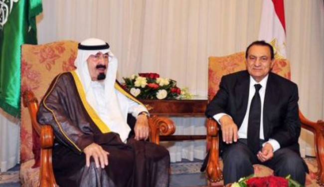 Image result for mubarak and king abdullah