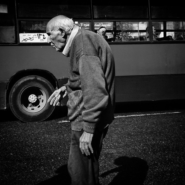 The bus station. Photo by Hadeer Mahmoud