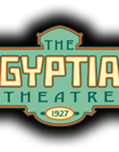 The egyptian theatre logo also specs rh egyptiantheatre