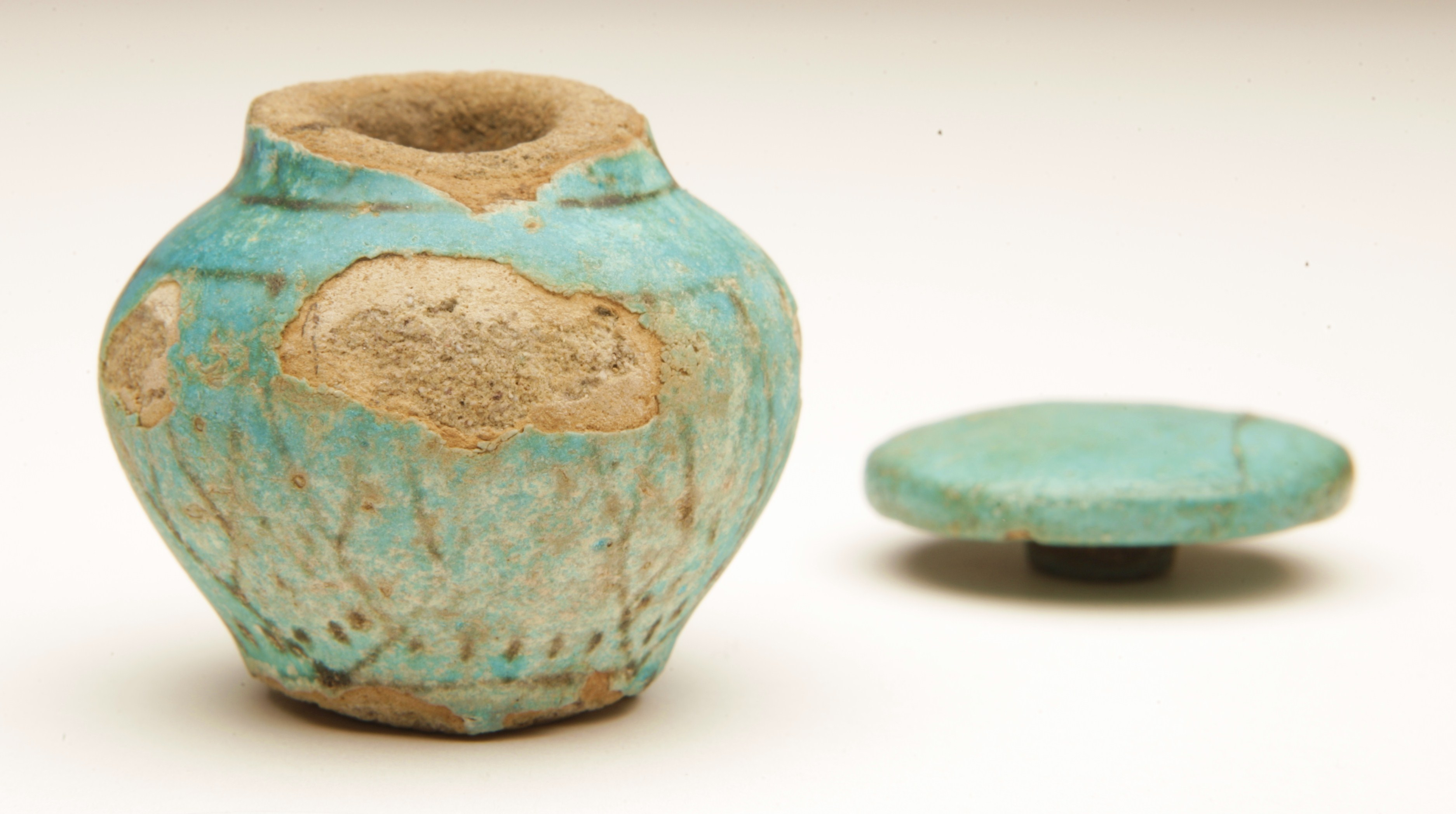 Curators Diary 26512 Making ancient Egyptian faience  Egypt at the Manchester Museum