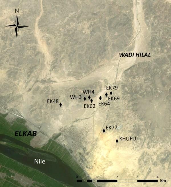 Elkab Desert Survey Project Edsp Yale In Egypt