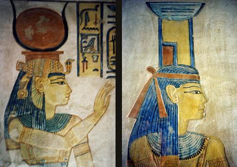 Hathor and Nephthys
