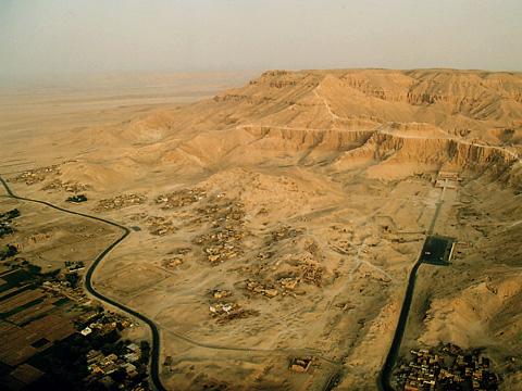 Looking towards Deir el-Bahri