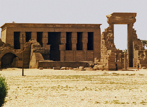 The Temple of Hathor at Dendera