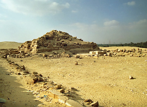 The sun-temple of Niuserre