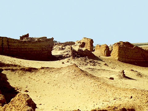 Ruins of ancient Bacchias