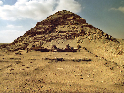 Pyramid and mortuary temple of Neferirkare