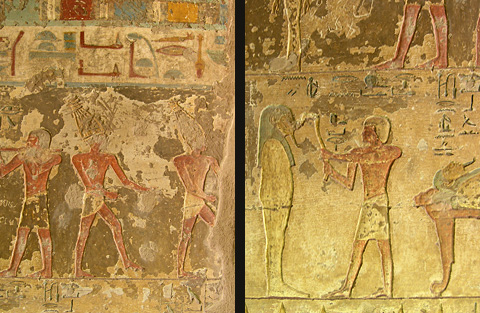 Mu dancers and the Opening of the Mouth in the tomb of Renni