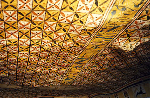 Ceiling in the tomb of Roy