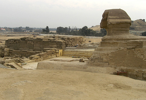 The Sphinx and Khafre's Valley Temple