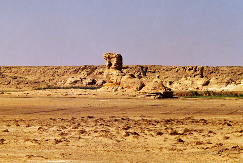 'The Camel' rock formation at Tineida