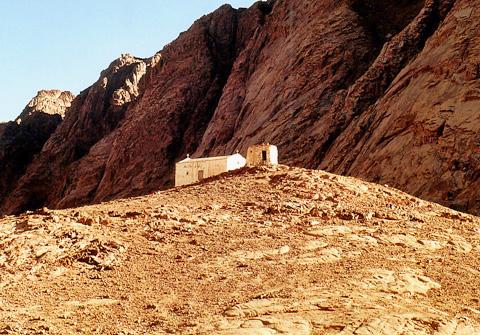 Chapel of the prophet Aaron, Mount Sinai