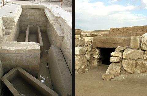 Tomb of Shoshenq III and Tomb of Osorkon II
