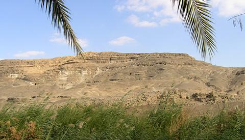 Dynasty V tombs at el-Sheikh Said