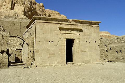 Ptolemaic temple at Deir el-Medina