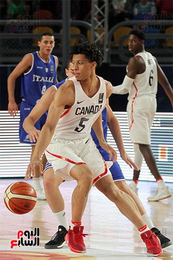 2017-07-09 FIBA under-19 basketball final Canada Italy Cairo Stadium Egypt - Youm7