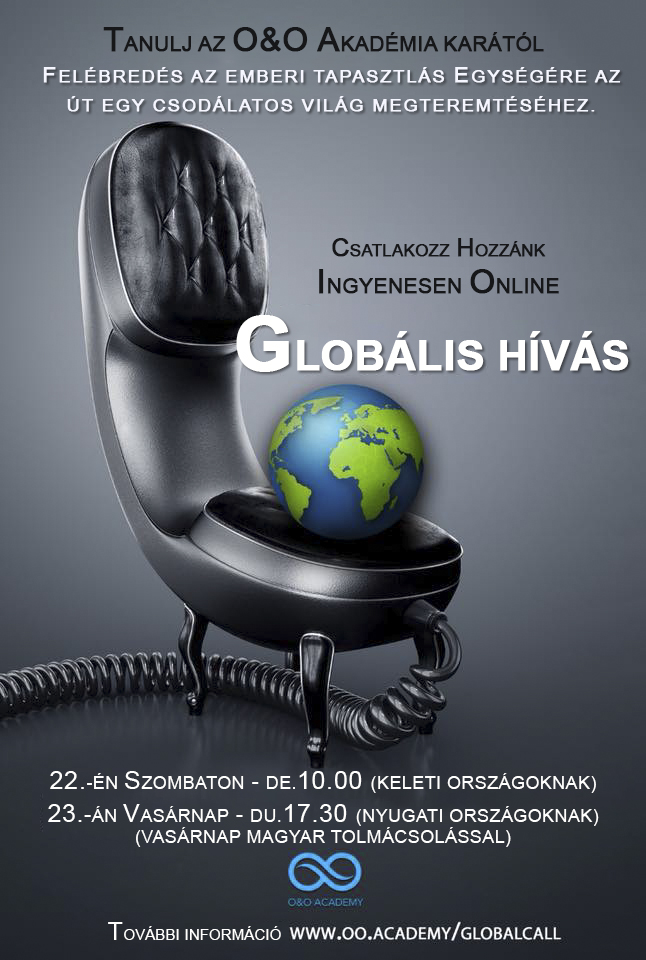 O&O Academy Global Call - Globális hívás