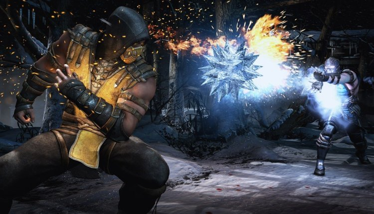 صور داخل لعبة مورتال كومبات 11 Mortal Kombat