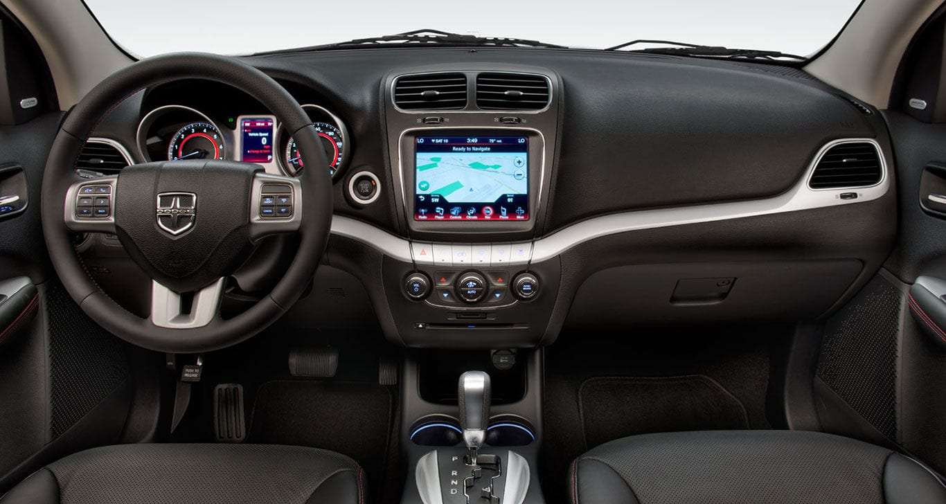 hight resolution of 2015 dodge journey interior drivers view