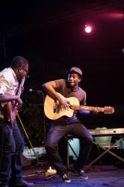 Kyekyeku and Bright performing at The Cadence