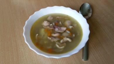 Грибной суп6