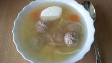 Суп с фрикадельками5