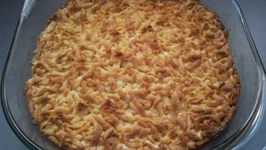 Тертый яблочный пирог 11