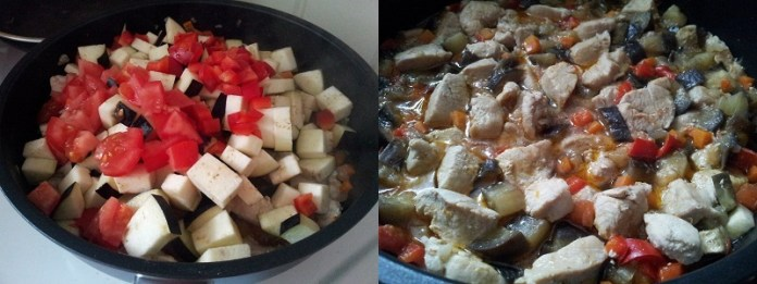 Курица с овощами 4