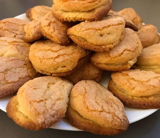 Яблочное печенье _