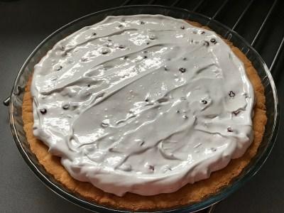 Ягодный пирог с безе _11