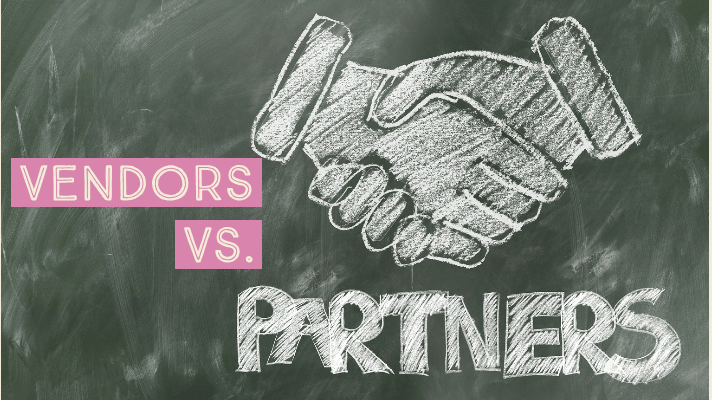 Vendors vs. Partners