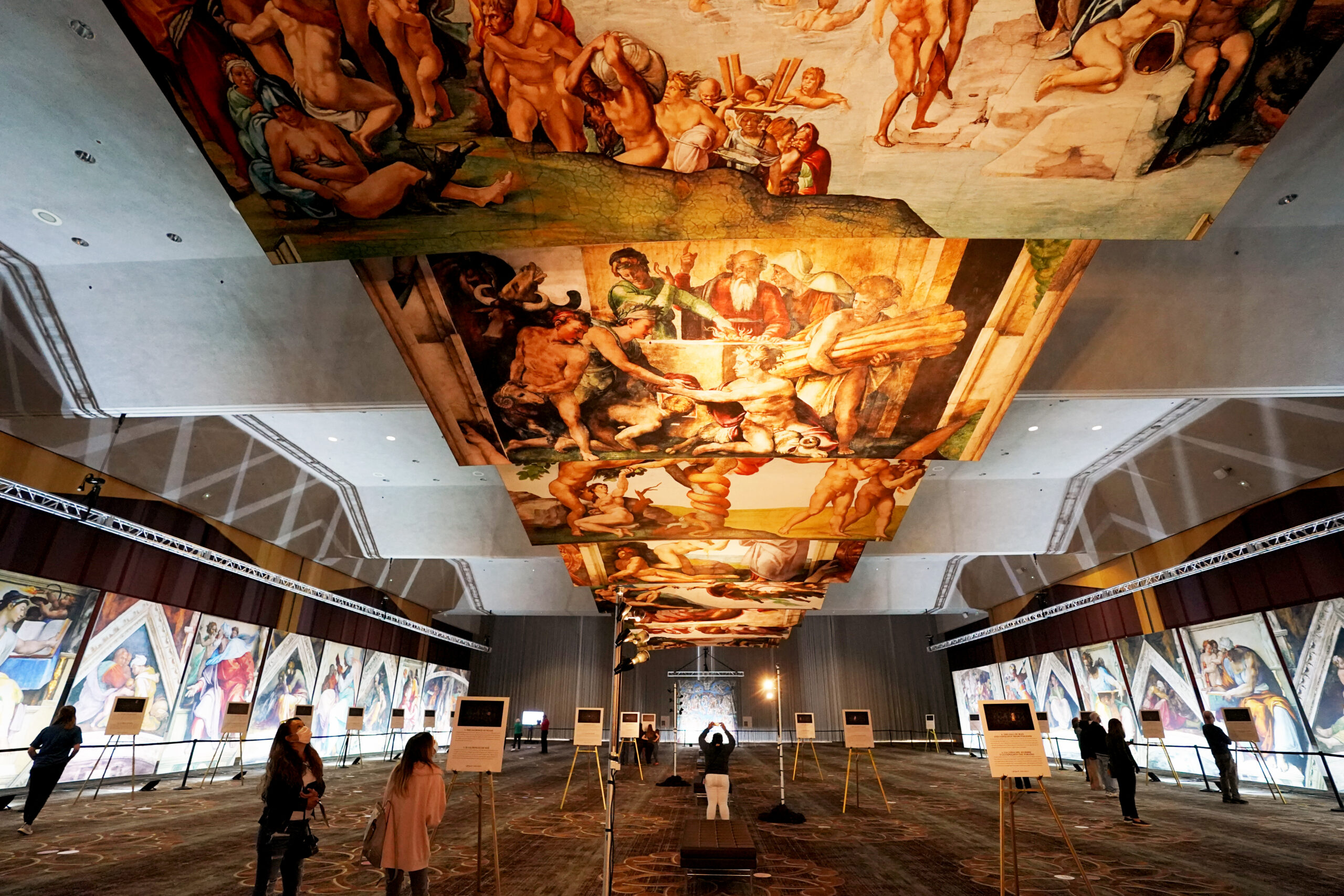 Tickets Now Available for Michelangelo's Sistine Chapel: The Exhibition