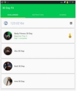 aplicație pentru fitness 4