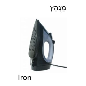 How to say iron in Hebrew