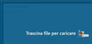 trascina file media
