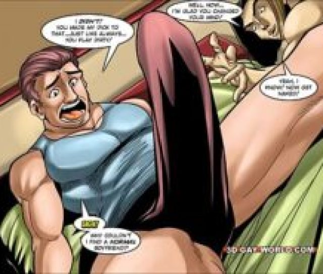 Image Flamboyant Four Gay Superhero Animated Comics